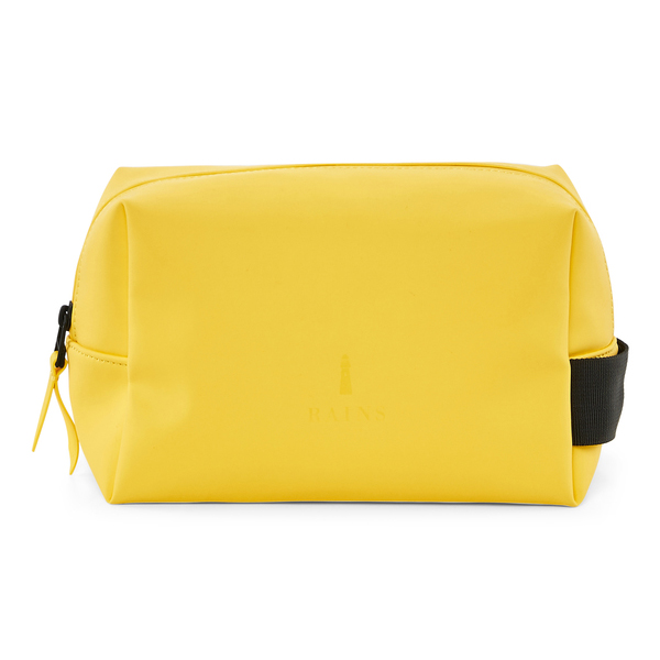 Small waterproof yellow washbag