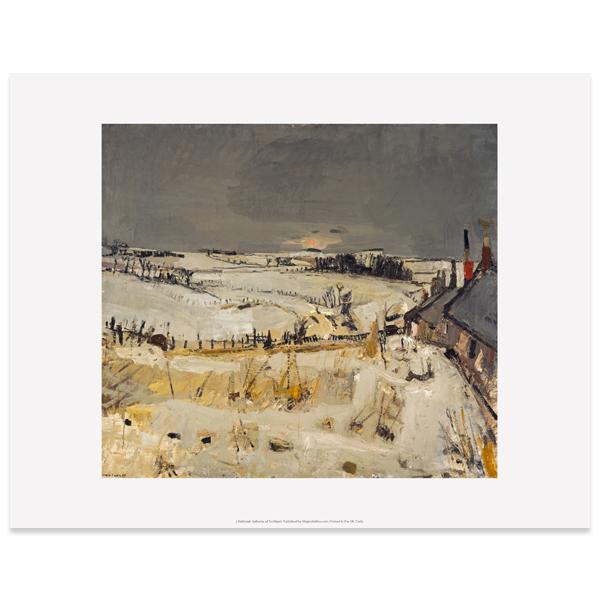 Snow by Joan Eardley art print