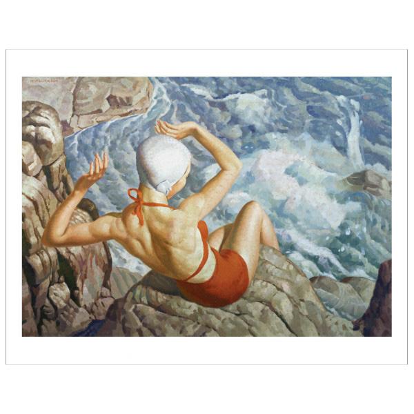 Spray by Harold Williamson giclee print (40 x 50 cm)