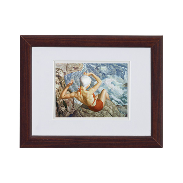 Spray by Harold Williamson ready to hang small framed print