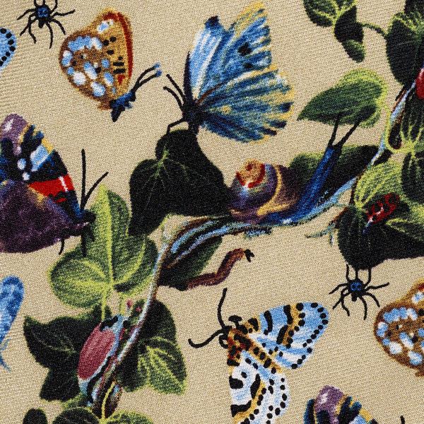 Still Life by Van Kessel cream silk tie