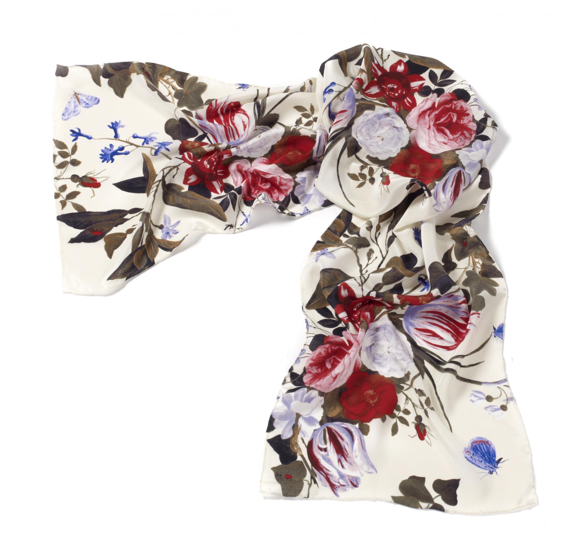 Still Life by Jan van Kessel silk scarf