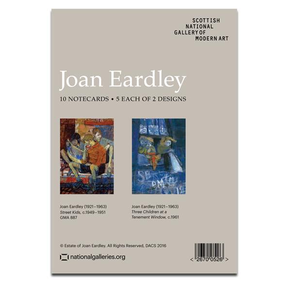 Street Kids by Joan Eardley notecard wallet (10 cards)
