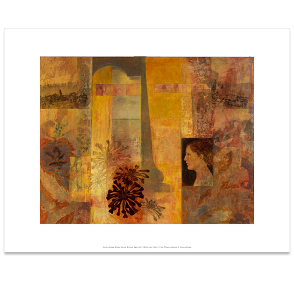 Studio Venice: Mirrored View Victoria Crowe Art Print