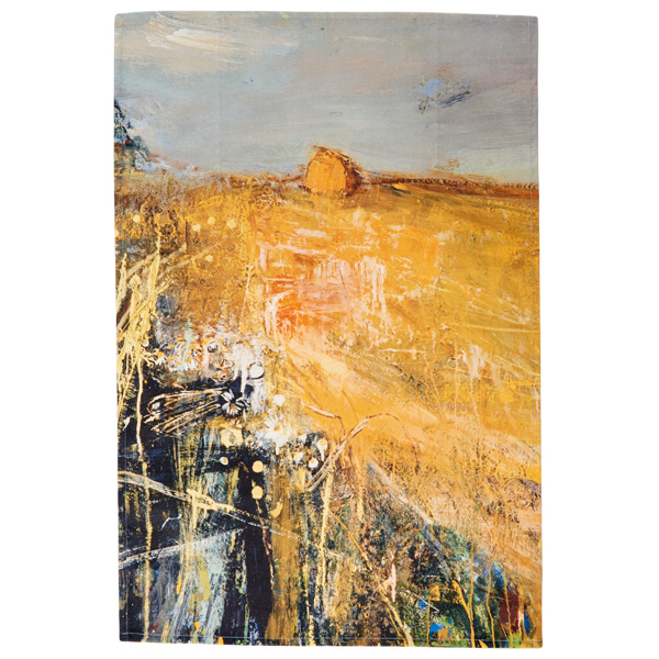 Summer Fields Joan Eardley Tea Towel