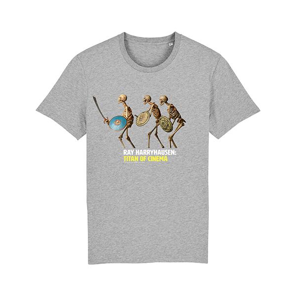 Skeletons from Jason and the Argonauts grey medium t-shirt