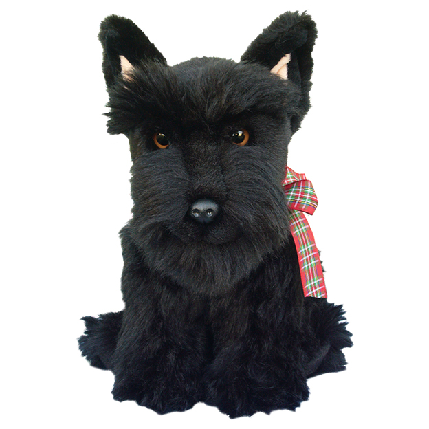 Large Scottish Terrier Soft Toy