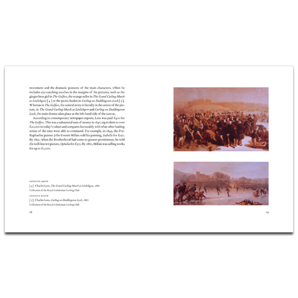 The Golfers: the story behind the painting (hardback)