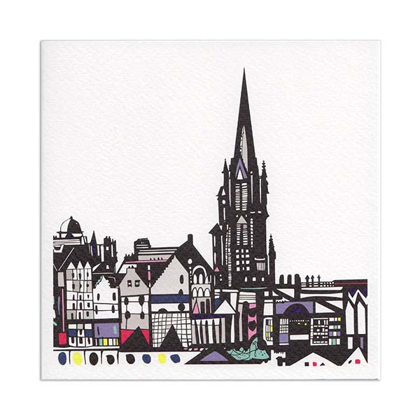 The Hub Edinburgh greeting card