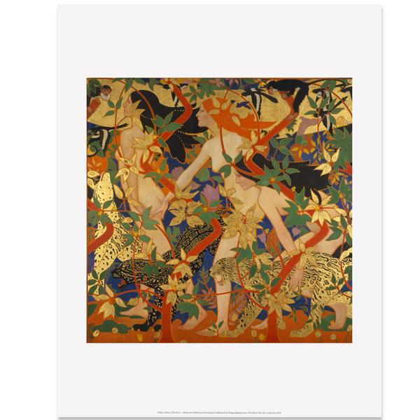 The Hunt Robert Burns Art Print