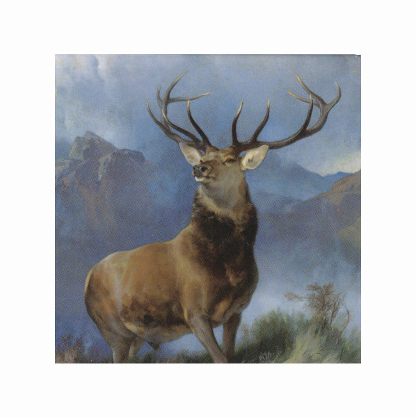 The Monarch of the Glen by Edwin Landseer magnet