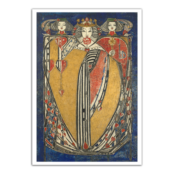 The Queens by Margaret Macdonald Mackintosh notecard box (20 cards)