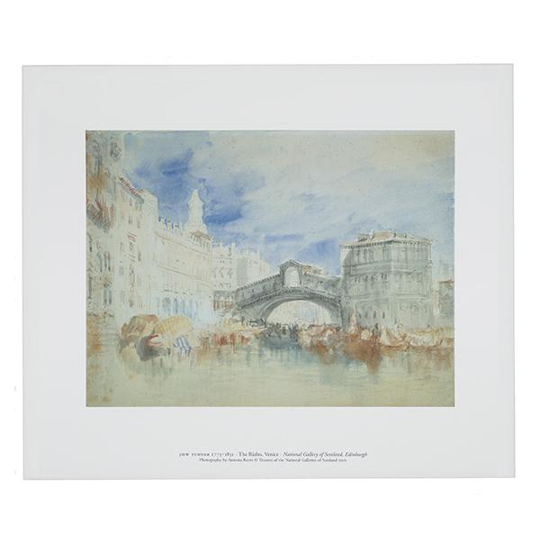 The Rialto, Venice by Joseph Mallord William Turner art print