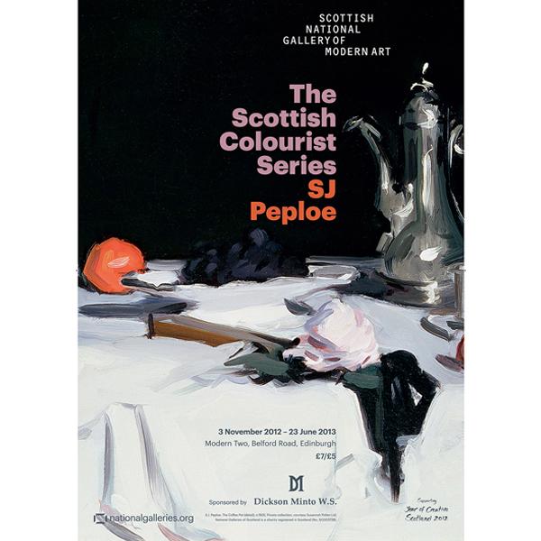 Samuel John Peploe exhibition poster