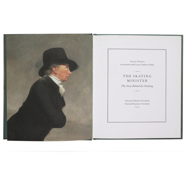 The Skating Minister The Story Behind the Painting Hardback
