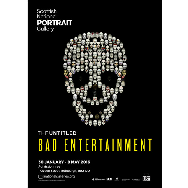 The UNTITLED Bad Entertainment exhibition poster