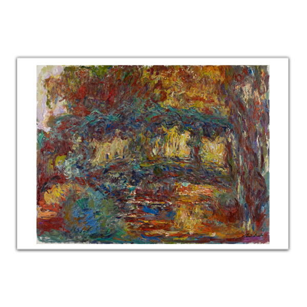 The late years by Claude Monet notecard box (20 cards)