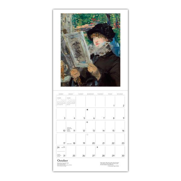 The reading woman 2021 wall calendar