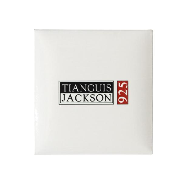 Tianguis Jackson Double Twisted 3/4 Silver Bracelet