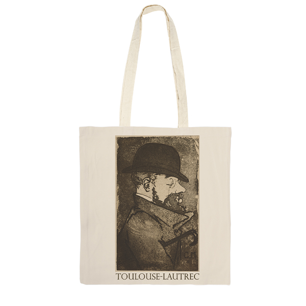 Portrait of Toulouse-Lautrec Charles Maurin Tote Bag