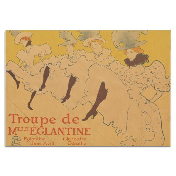 Troupe de Mll Eglantine Toulouse-Lautrec A5 Sketchbook