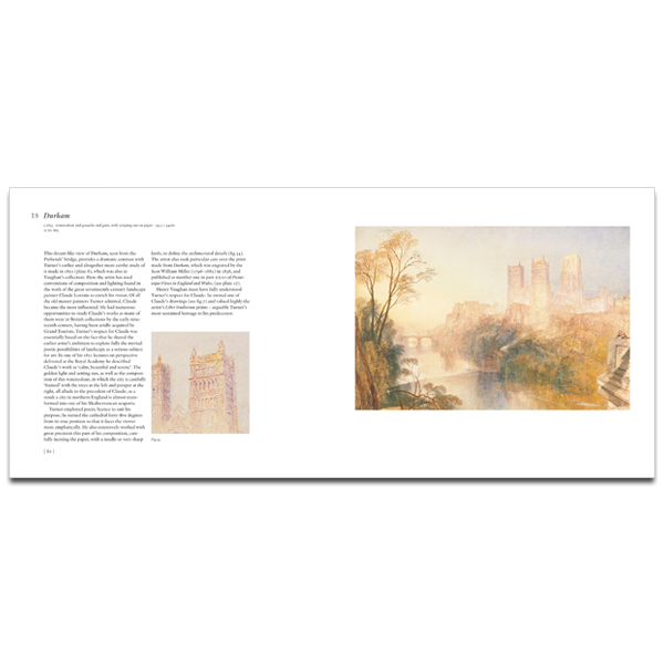 JMW Turner: The Vaughan bequest exhibition book (paperback)