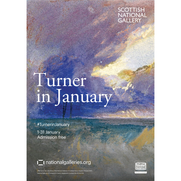 Turner in January Exhibition Poster 2018