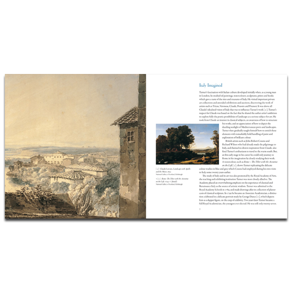 Turner's Italy (paperback)