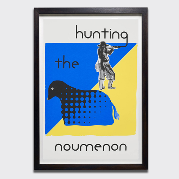 Untitled (Hunting the Noumenon), 2018 by Charles Avery limited edition screen-print