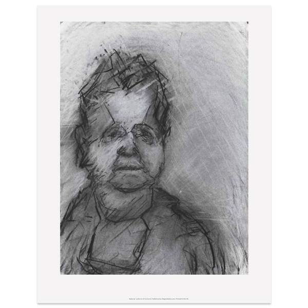 Val McDermid II by Audrey Grant poster print