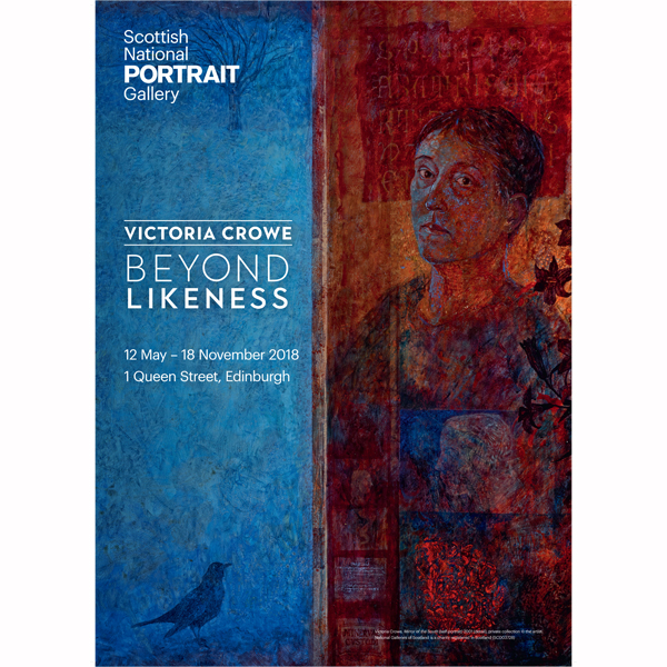 Victoria Crowe: Beyond Likeness exhibition poster