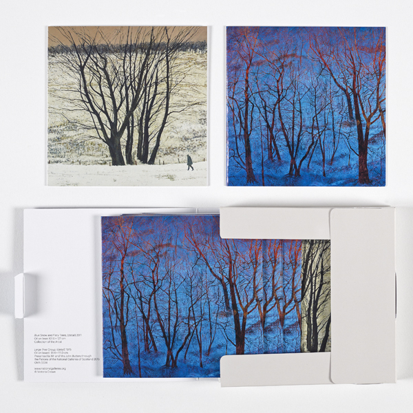 Trees by Victoria Crowe notecard wallet (10 cards)