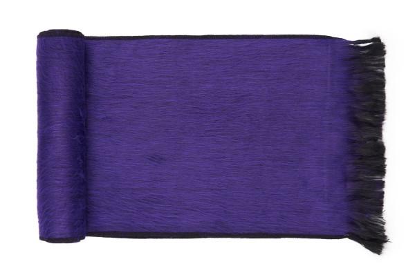 Violet alpaca scarf