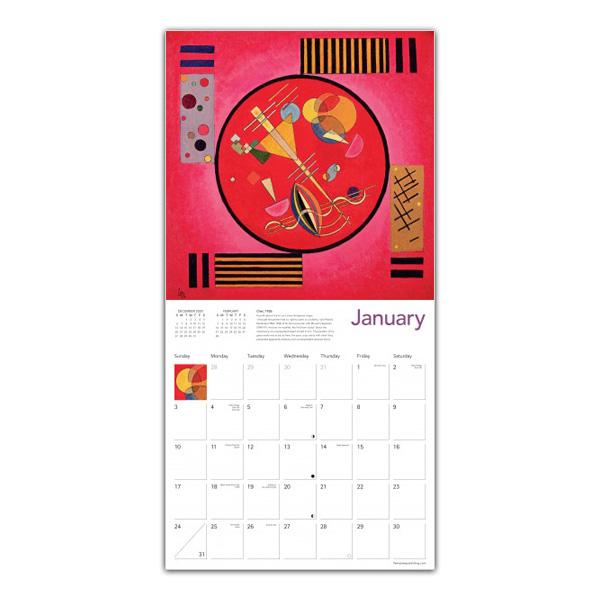 Wassily Kandinsky 2021 wall calendar