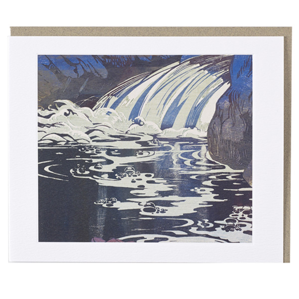 The Waterfall Mabel Royds Greeting Card