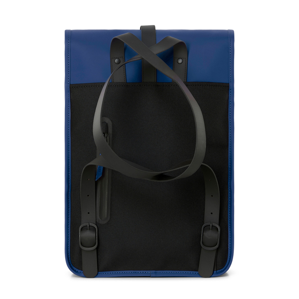 Waterproof blue backpack