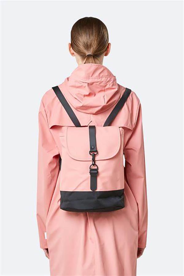 Waterproof coral draw string backpack