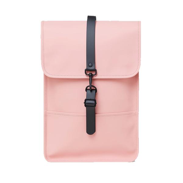 Waterproof medium size light pink backpack