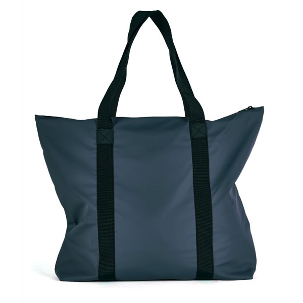 Waterproof navy large tote bag