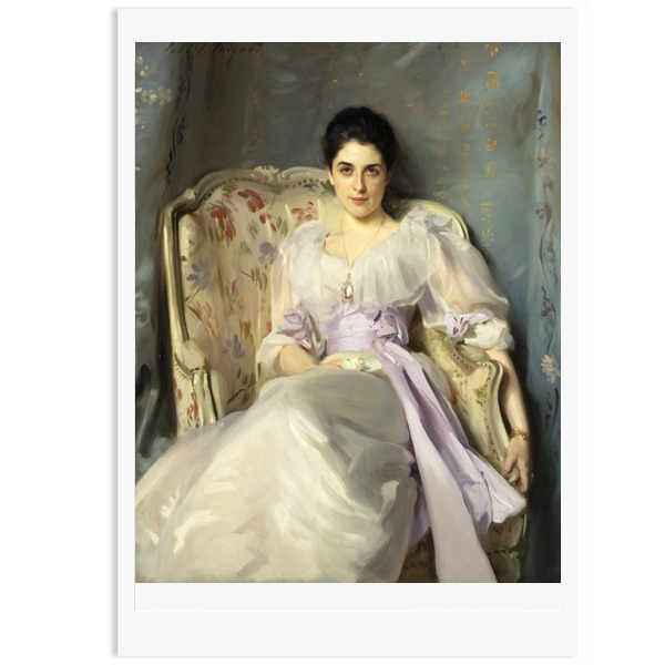 Lady Agnew of Lochnaw by John Singer Sargent poster print