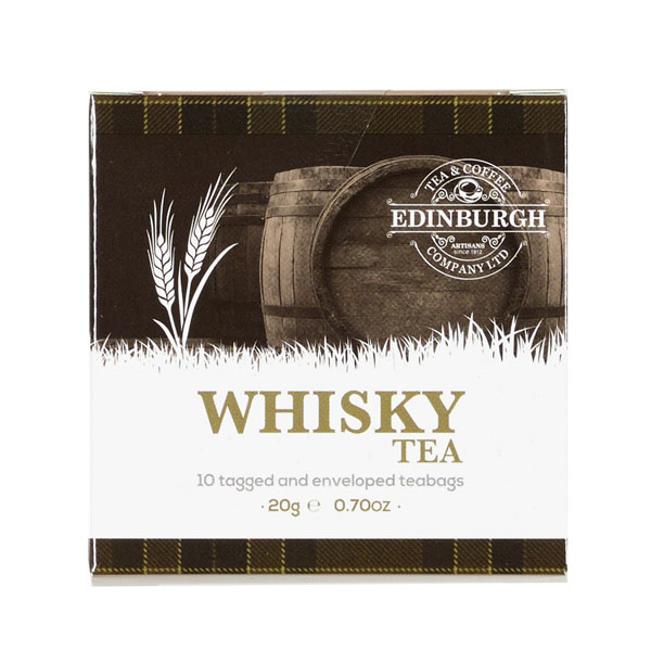 Whisky flavoured teabags (pack of 10)