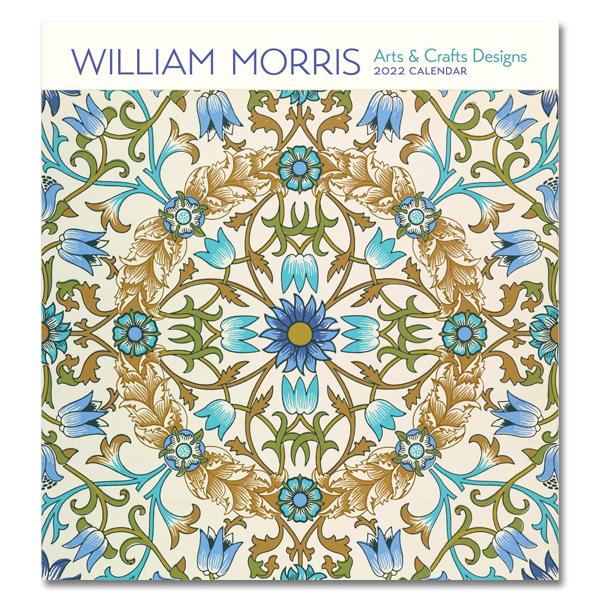 William Morris 2022 wall calendar