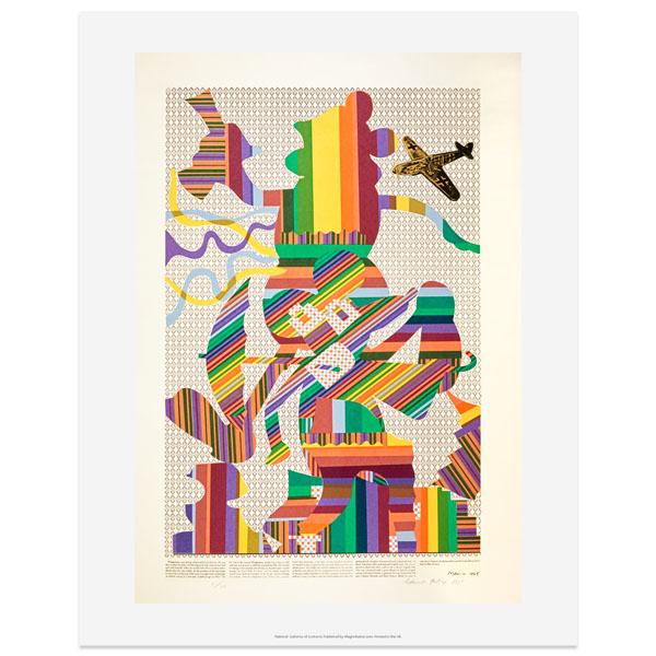 Wittgenstein at the cinema by Eduardo Paolozzi art print