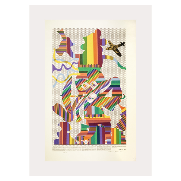 Wittgenstein at the Cinema by Eduardo Paolozzi poster print