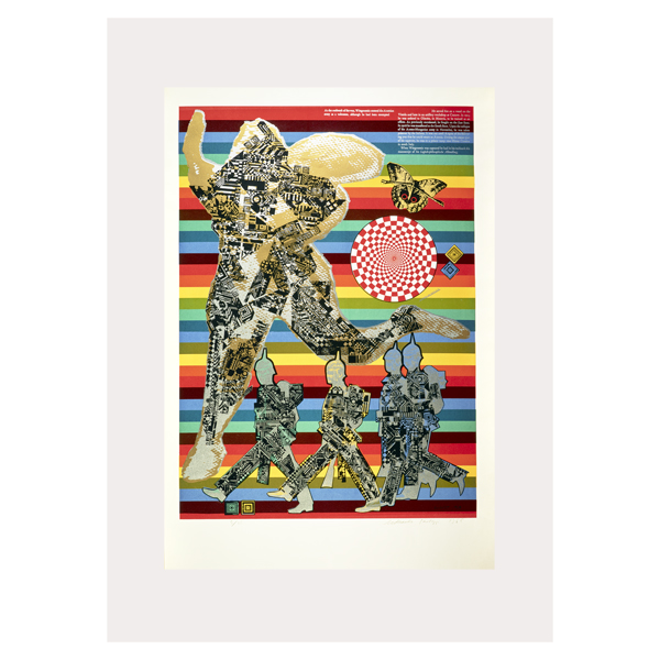Wittgenstein the Soldier by Eduardo Paolozzi poster print