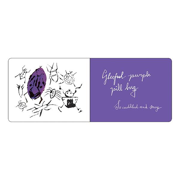 Happy bug day by Andy Warhol board book (hardback)