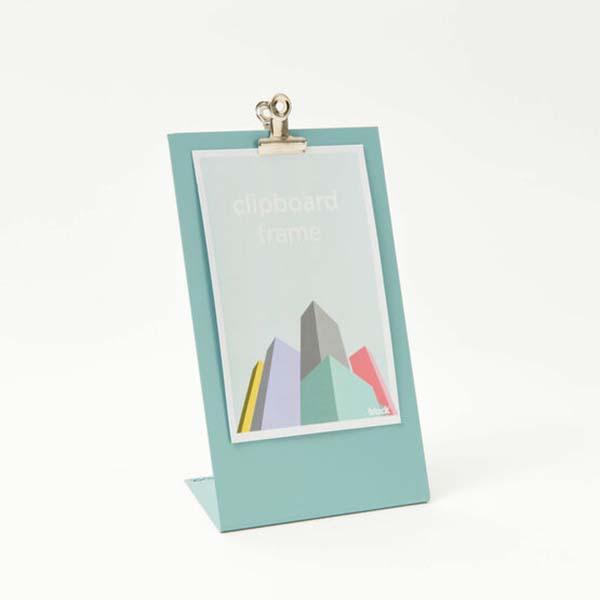 Light blue clipboard frame