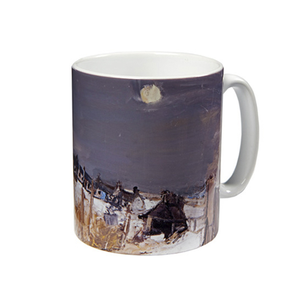 Catterline in Winter Joan Eardley Mug