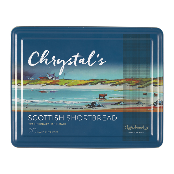 Chrystal's Handmade Scottish Shortbread 475g Tin