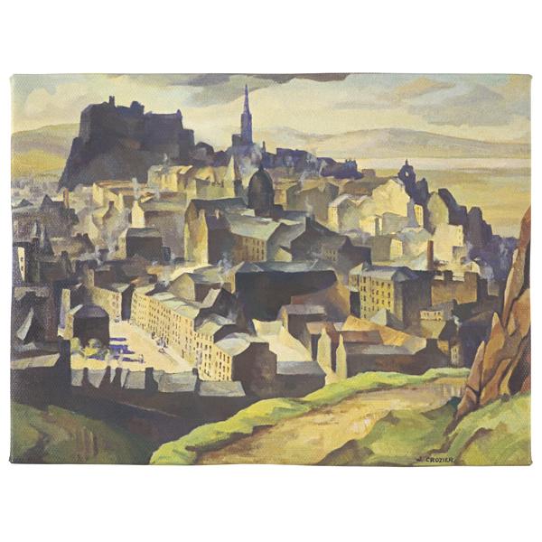 Edinburgh (from Salisbury Crags) William Crozier Canvas
